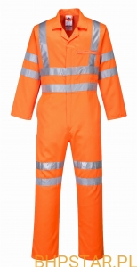 RT42 Hi-Vis Poly-cotton Coverall RIS Kombinezon
